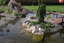 Jezírka a vodopády