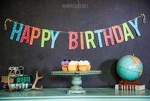 Cumpleaños ~ Fiestas Temáticas