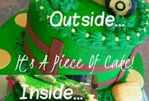 Traktor cake