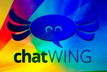 ChatWing Logo / Have many color where chatwing logo have