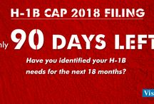 H1B Cap 2018 Red Alerts / Here we offer H1B cap 2018 real time alerts every time an action is required for the timely filing of H1B petitions with the USCIS.