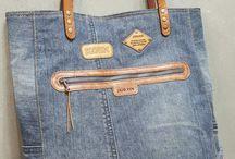 b o lso tela jeans