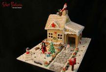 Gingerbread House - Kurabiye Ev / Pasta-Kurabiye