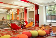 Biblioteka - wystrój