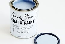 Louis Blue Chalk Paint® decorative paint by Annie Sloan / Louise Loui Lewey louey, no matter how it's spelled it's beautiful.