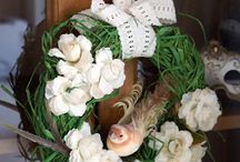 wianki, stroiki i dekoracje - kasiulove.blogspot.com / różnego rodzaju dekoracje głównie z użyciem elementów naturalnych. wianki, stroiki, aranżacje kwiatowe i ładne dekoracje do domu czy ogrodu