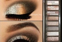 Naked eye shadow pallet / by Ashley B