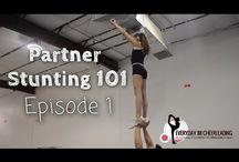 Coed Partner Stunt