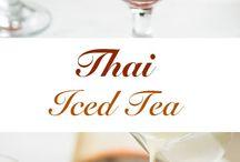 thai ice tea and recipe