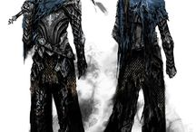 Dark Souls - Artwork - Characters