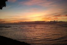 Honolulu Sunset / Dusk, my favorite time of day, in my favorite city