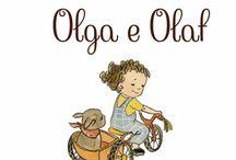 Olga e Olaf / Una tenera storia di amicizia tra una bimba e il suo cagnolino. Olga e Olaf giocano insieme, si divertono e condividono del tempo. Ma quando Olga esce con la sua mamma, il cagnolino rimane a casa da solo. Cosa succederà a Olaf mentre Olga è fuori? Sarà triste? Olga non vede l'ora di tornare a casa per scoprire cosa sta combinando Olaf... I bambini adorano gli animali, li vivono con quella passione e quell'amore che contraddistingue la vera amicizia.