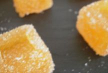 pâtes de fruits à la clémentine