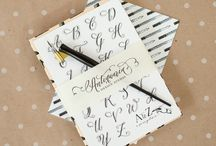 *JOURNAL ~ LETTERING / by Janet Marie