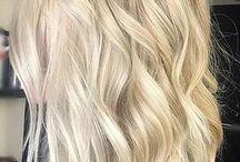 Szőke frizurák
