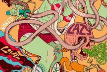 Ilustrações Douglas Bicicleta