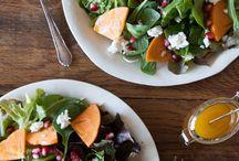 Salads and vegs / by Julie Quellhorst McMiller