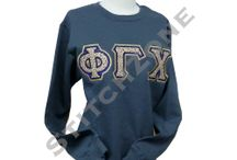 Phi Gamma Chi Sorority / Hoodies, Stoles, Lined Jackets and much more...