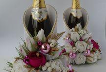 декор шампанского