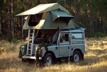 Van de camping