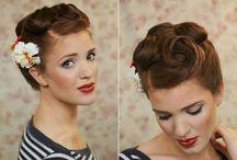 pin up hairs