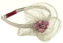 Ceremony headbands by Cuini / Ceremony headbands by Cuini, handmade from Spain