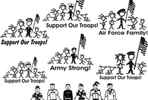 Support Our Troops / Sharing ideas of how others are supporting the troops and military families