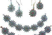 koraliki / wzory biżuterii na szydełku i nie tylko