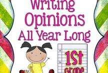 First/2nd grade CC Writing