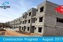 Villa Construction Status