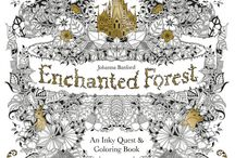 Johanna Basford Enchanted forest
