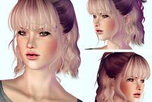 ts4- hair famale