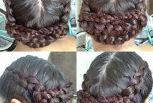 Braids by Cinn  / french braid bun