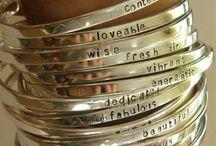 Silver bacelet