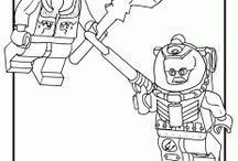 LEGO - coloring pages