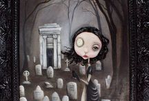 Michele Lynch / Some of my favourite pieces by the fabulous figurative pop surrealist Michele Lynch