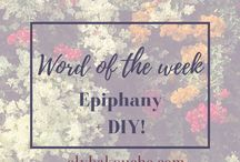 Word of the Week / All words of the week from elybakouche.com and other sites choosing to uncover the meaning of words.
