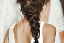 braids and chignon