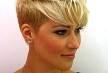 Blonde Highlights on short brown hair / Searching for ideas...!