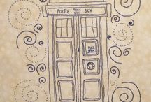 To-Try: Dr Who Art