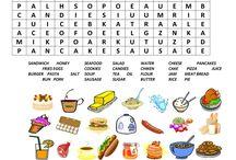 English: food