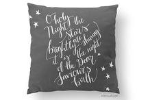 ~ Pillows