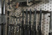 Safe weapons storage