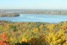 Most Challenging Hiking Trail / GOLD SEAL Awards contest is sponsored by the Friends of Wisconsin State Parks. Campers, bikers, hunters, hikers, anglers, and park visitors cast votes for favorite state park, forest or trail in the ten categories each year. Pin your Gold Seal Award.
