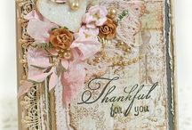 Vintage Layered Cards / A little more elaborate, but a lot of lovely! / by Dawn Froehlich