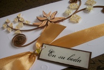tarjetas invitaciones / by Sandra Menares