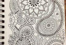 Bleistift Zeichnungen