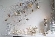 Seasonal mantels and decorations