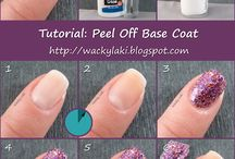 peel off base coat