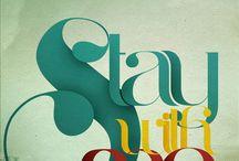 Typography / by Brittany Hrevnak
